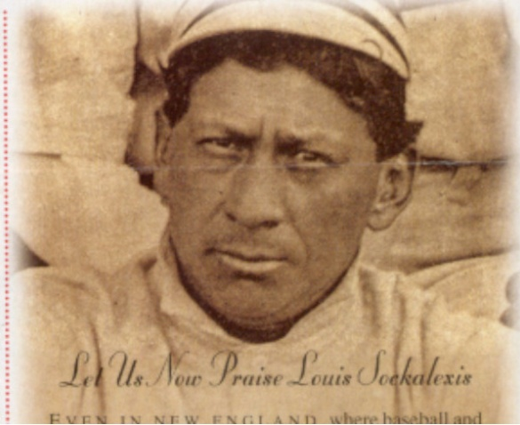 Let's build a statue to Louis Sockalexis, baseball's first Indian, in Bangor